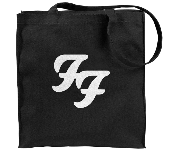 Black Logo Tote Bag - Foo Fighters UK