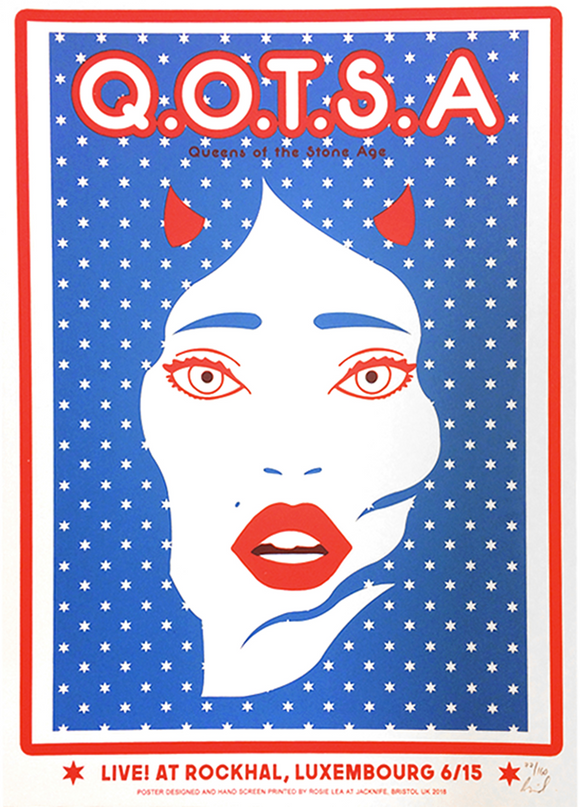 Luxembourg Event Poster - Queens of the Stone Age UK