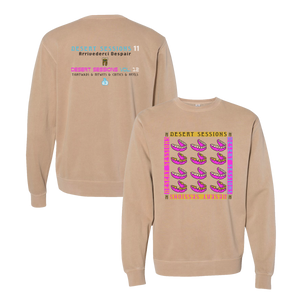 Desert Sessions Crewneck - Tan