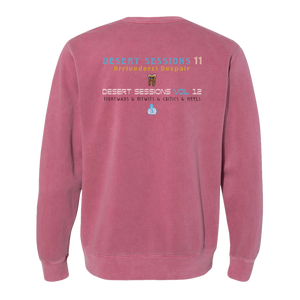 Desert Sessions Crewneck - Red - Queens of the Stone Age UK