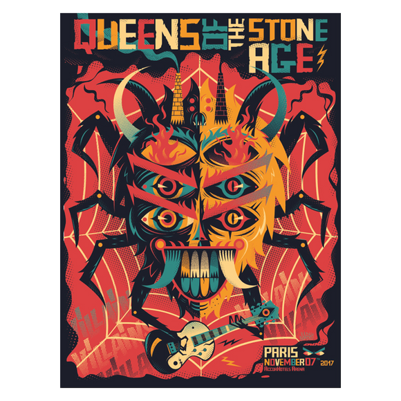 Paris, France Event Poster - Queens of the Stone Age UK