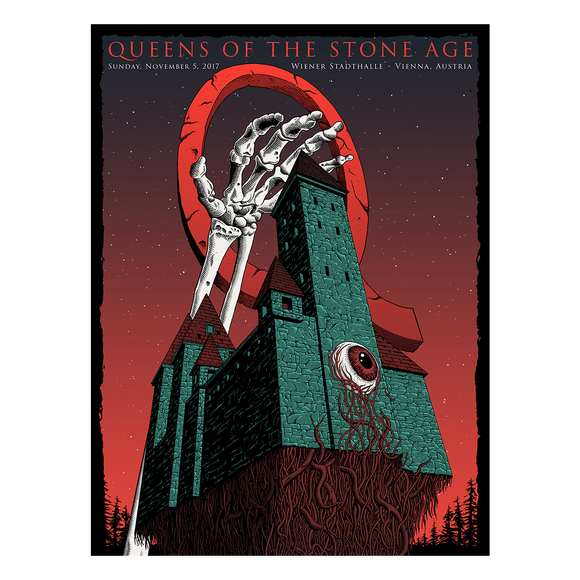 Vienna, Austria Event Poster - Queens of the Stone Age UK