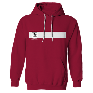 Rated R Hoodie - Cardinal Red - Queens of the Stone Age UK