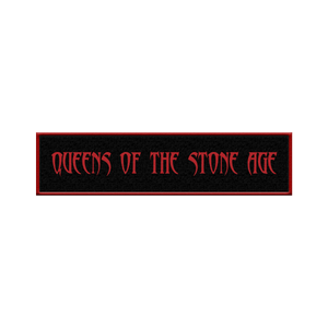 QOTSA Logo Patch - Red - Queens of the Stone Age UK