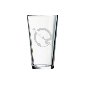 Snake Q Pint Glass - Queens of the Stone Age UK