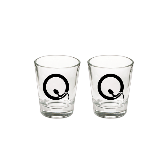 Fertile Q Shot Glass - Queens of the Stone Age UK