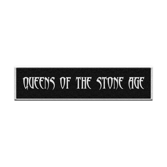 QOTSA Logo Patch - Black - Queens of the Stone Age UK