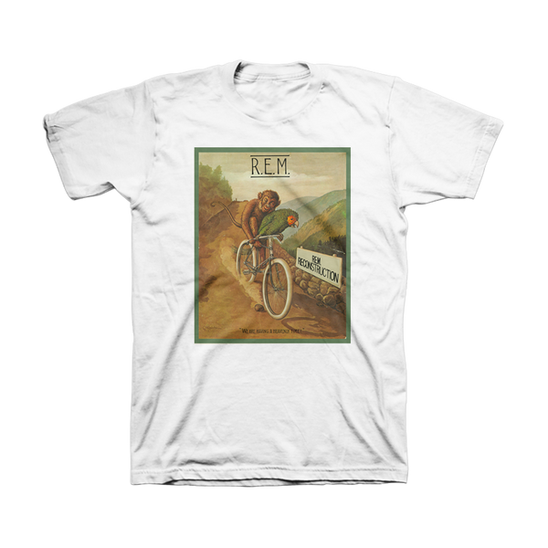 Monkey on a Bike Throwback Tee - REM UK