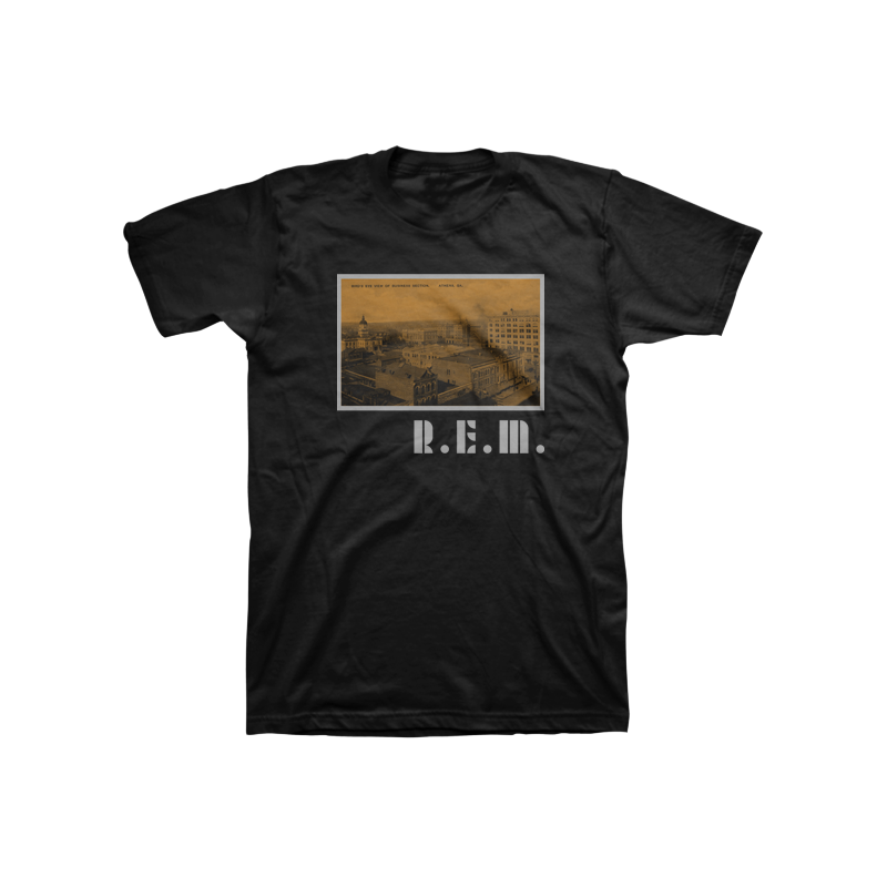 Athens Postcard Throwback Tee - REM UK