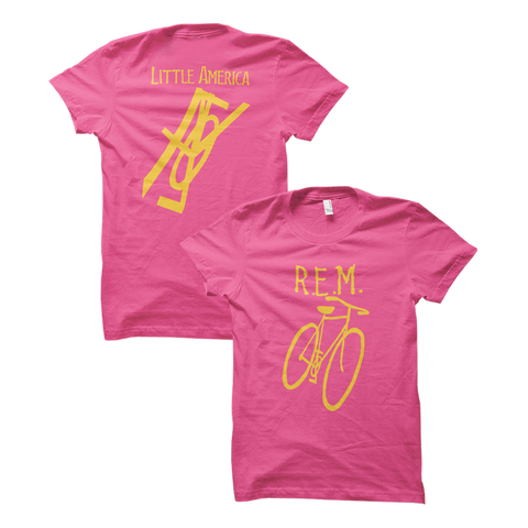 Little America Bicycle Women's Throwback Tee - REM UK
