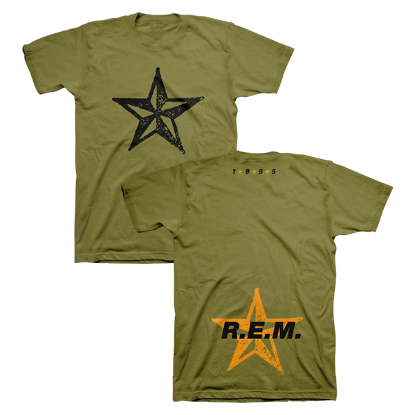 Star Throwback Tee - R.E.M.