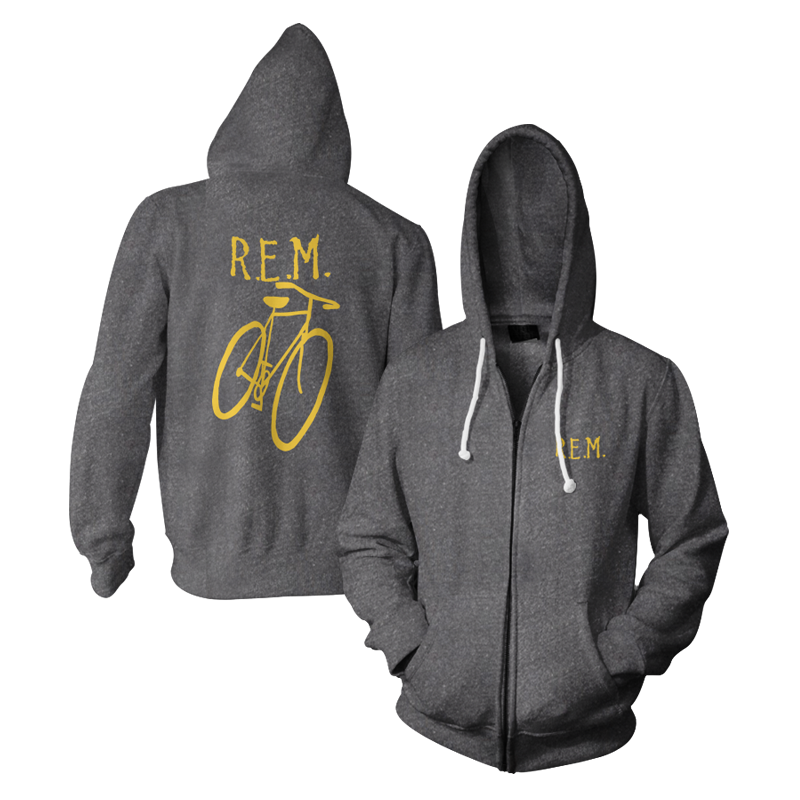 Little America Bicycle Throwback Hoodie - R.E.M.