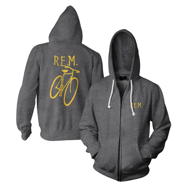 Little America Bicycle Throwback Hoodie - REM UK