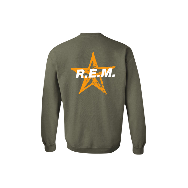 Star Throwback Crewneck Sweatshirt - REM UK