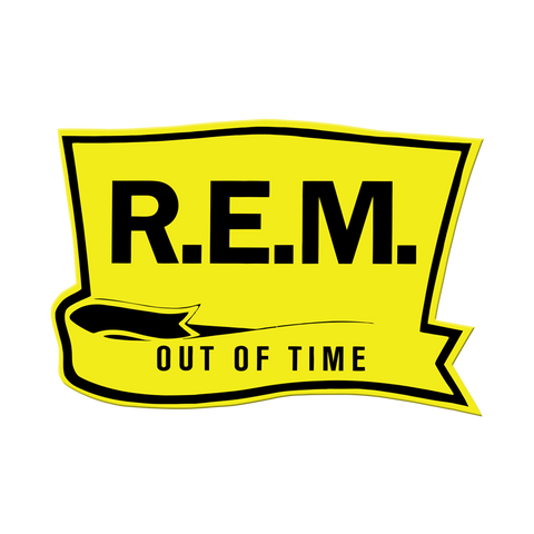 Out of Time Embroidered Patch - REM UK