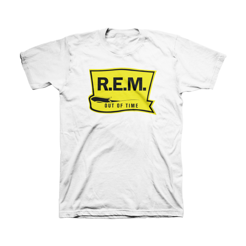 Out of Time Men's White Shirt - REM UK