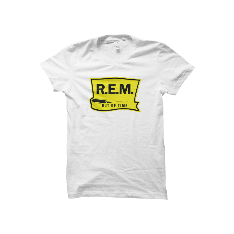 Out of Time Jr's White Shirt - REM UK