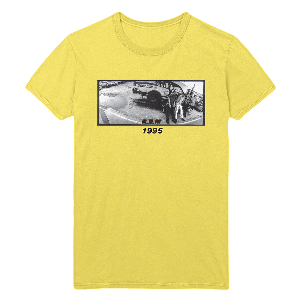 R.E.M. 1995 Yellow Tee - REM UK