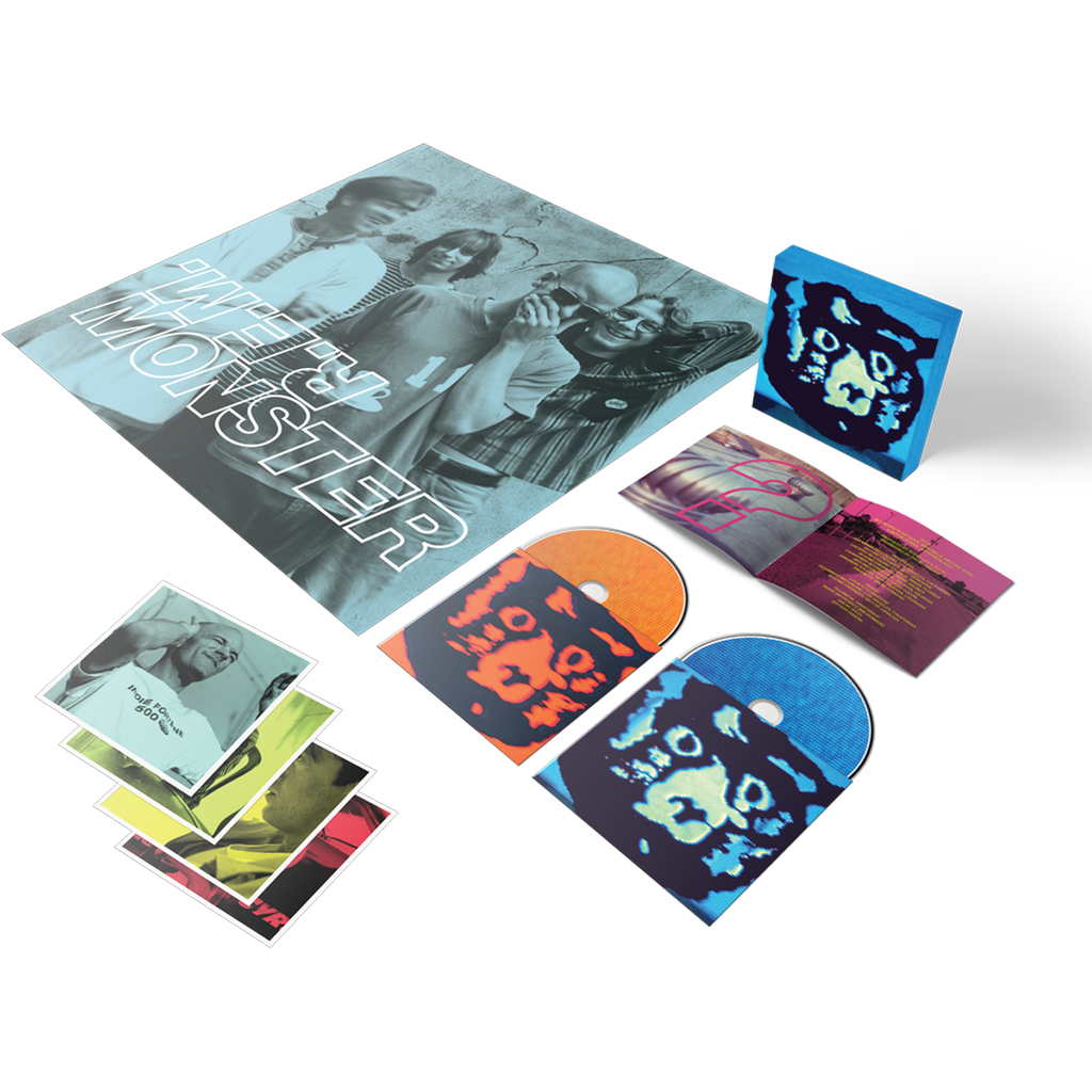 Monster 25th Anniversary - Expanded 2-CD Set - REM UK