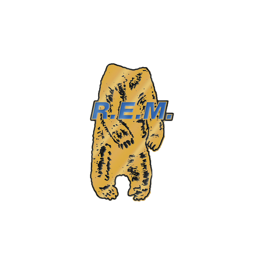Bear Body Enamel Pin