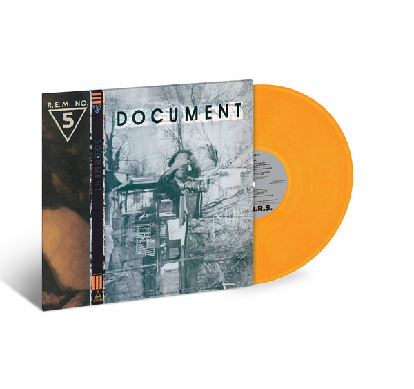 Document 2018 Repress Gold Vinyl - REM UK