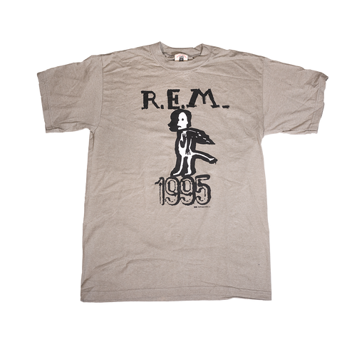 Tan Birdman Tee - REM UK