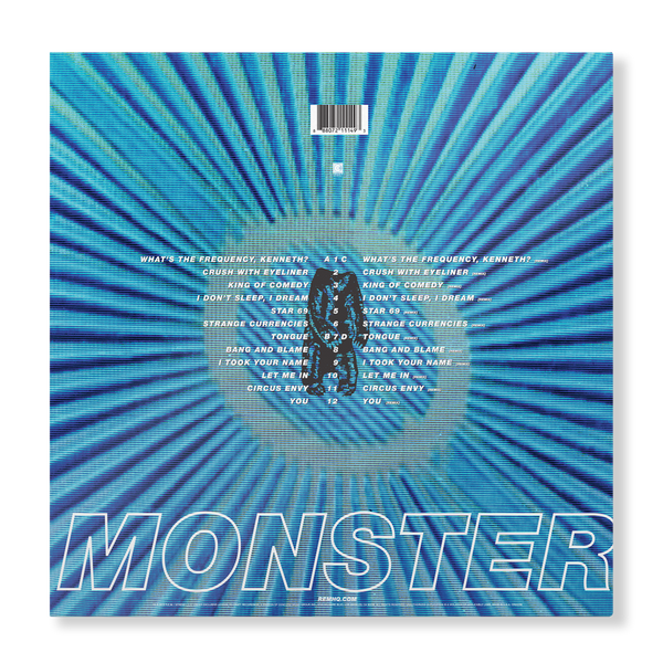 Monster 25th Anniversary - Expanded 2-LP Set - REM UK