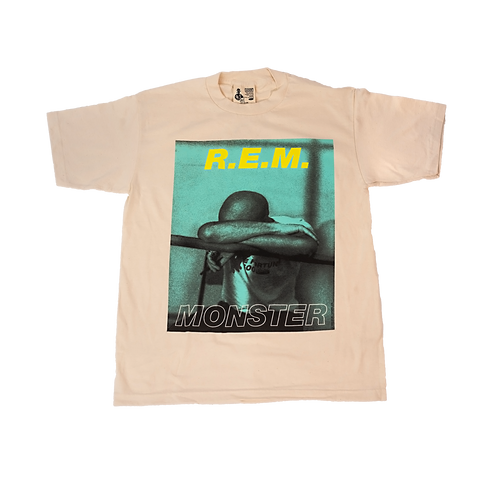 Monster Originals Natural Tee - REM UK