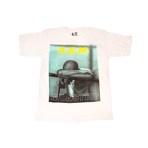 Monster Originals White Tee - REM UK