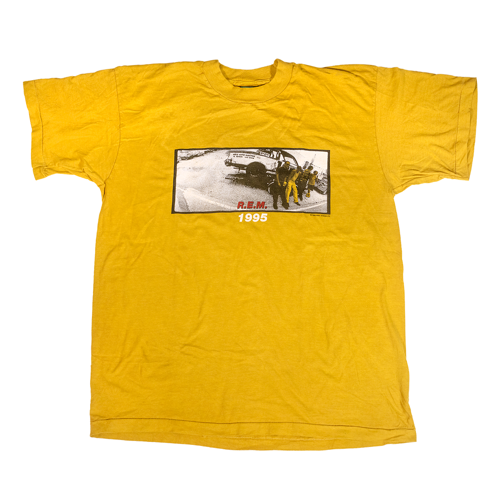 Mustard Band Photo Tee - REM UK