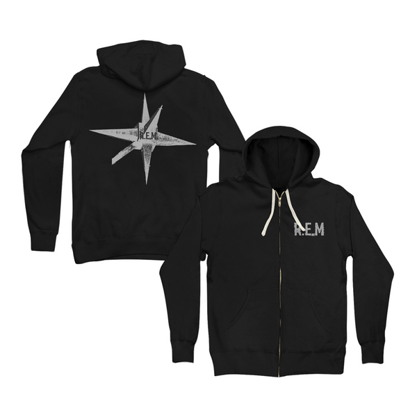 New Star Zip Hoodie - REM UK