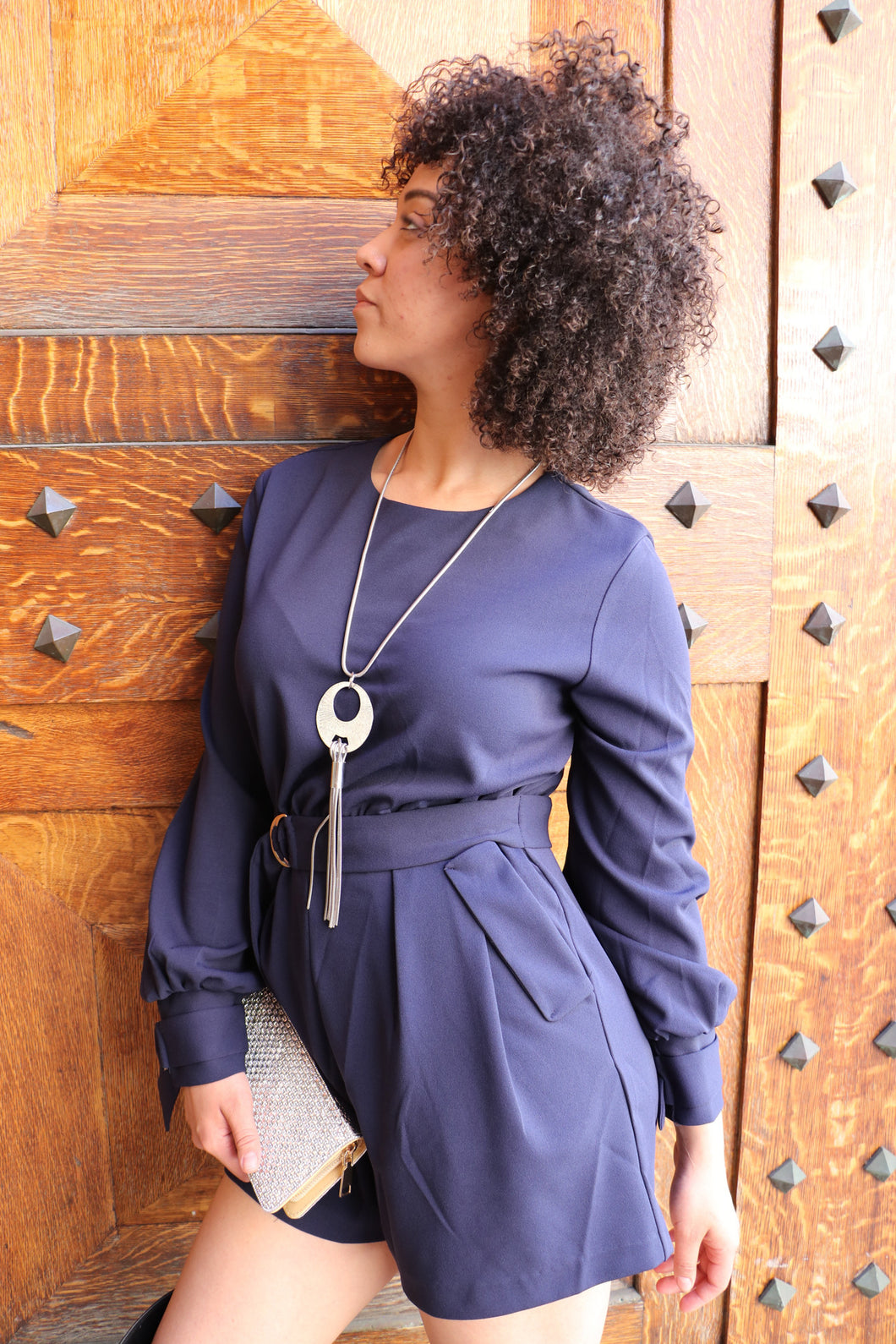 A Unique European Long Sleeve Dress Rumper
