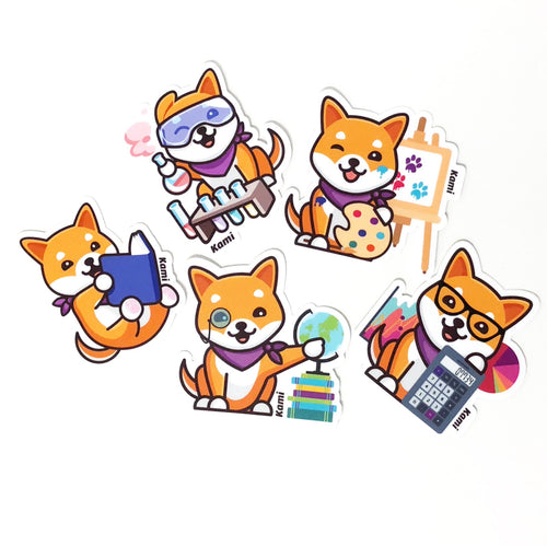 Kami Sticker Multi-Pack Version 1 (Pack of 10)