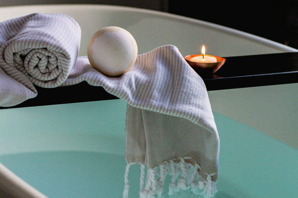 Massage Oils and Candles Make Sexy Spa Night at Home Easy and Inexpensive