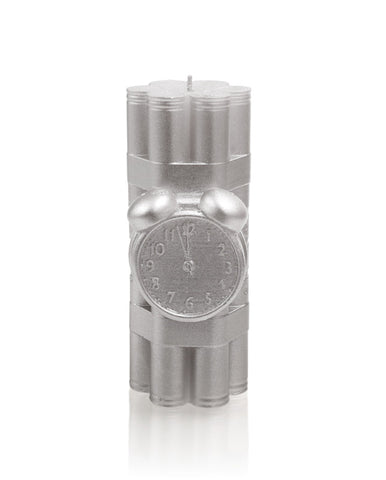 Dynamite Candle Silver