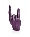 Rock n Roll Fingers Candle- Various Colors