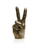 Peace Symbol Fingers Candle- Various Colors