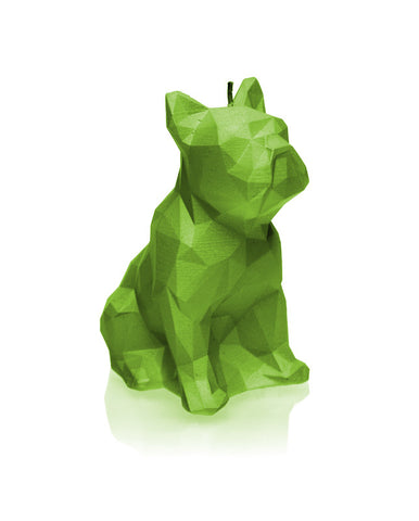 Dog Poly Candle Lime