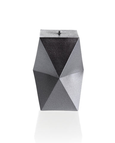 Geometric Candle Steel