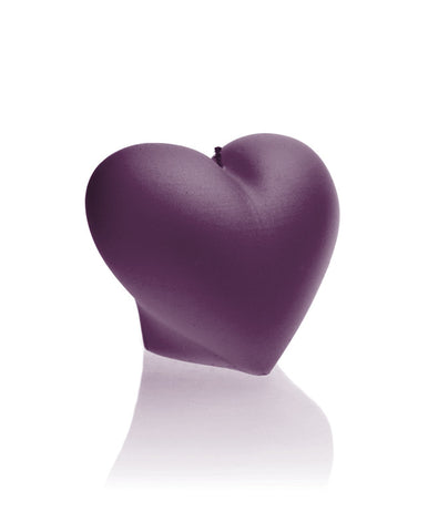Heart Candle- Various Colors