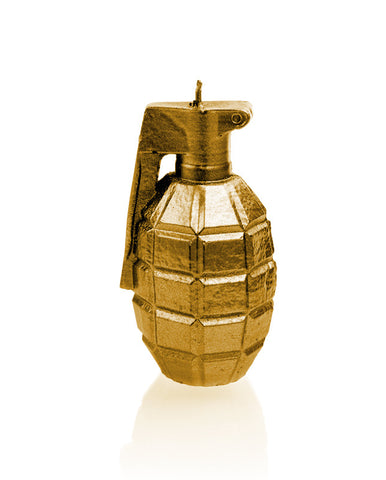 Grenade Candle- Various Colors