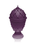 Large Faberge Egg Candle Violet