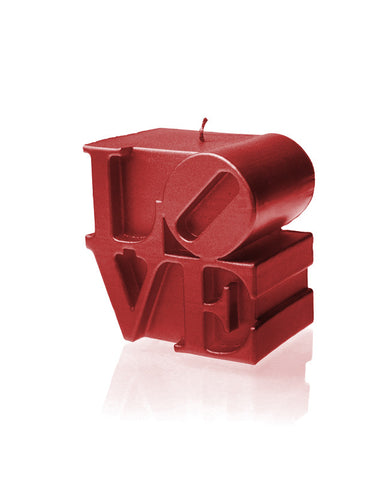 Love Sign Candle- Various Colors