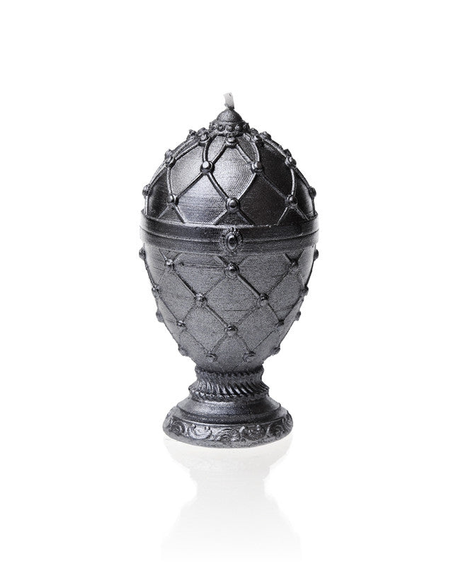 Faberge Egg Candle-Steel