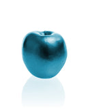 Apple Candle Blue Metallic