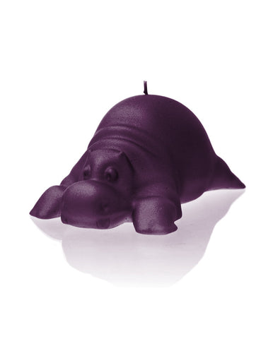 Hippo Candle- Various Colors