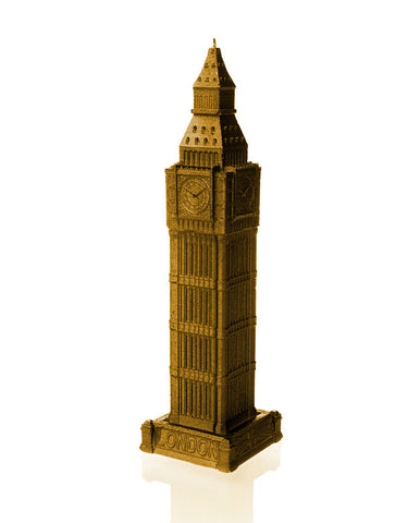 Big Ben Candle-Gold