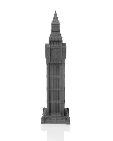 Big Ben Candle Gray