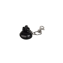 D20 KEY RING  - BLACK