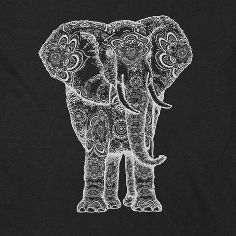 Tribal Elephant YogaGeek Design